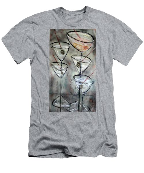 Martini Time Men's T-Shirt (Athletic Fit)