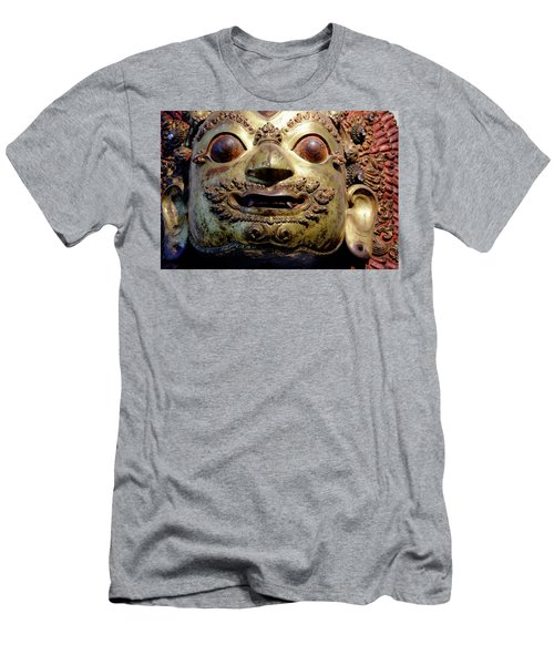 Men's T-Shirt (Athletic Fit) featuring the photograph Mask Of Shiva by August Timmermans