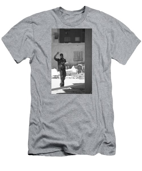 Men's T-Shirt (Slim Fit) featuring the photograph Massalama by Jez C Self