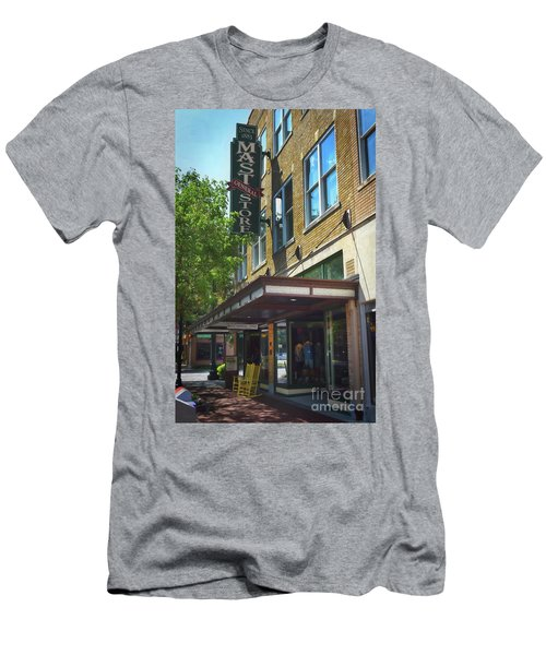 Men's T-Shirt (Slim Fit) featuring the photograph Mast General by Skip Willits
