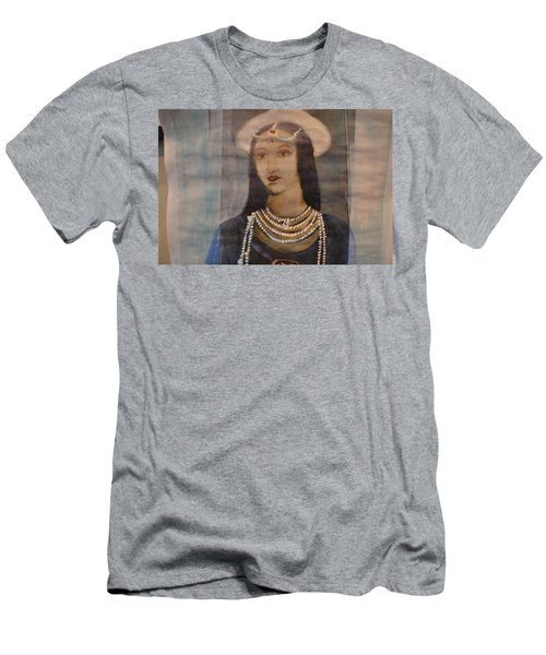 Men's T-Shirt (Slim Fit) featuring the painting Mastani by Vikram Singh