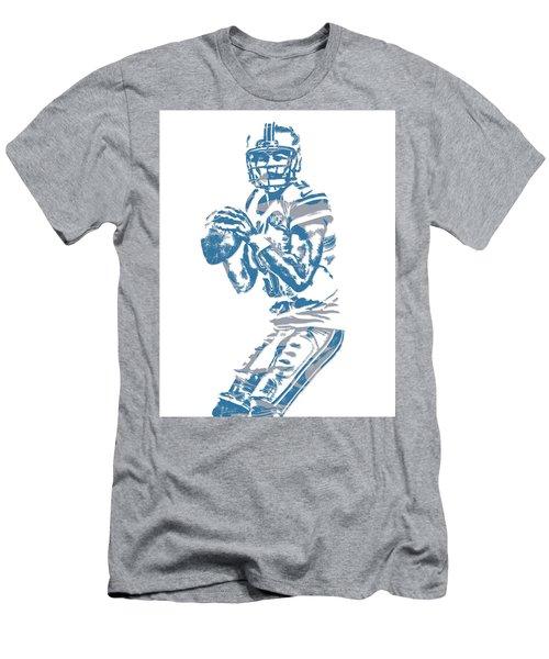 Matthew Stafford Detroit Lions Pixel Art 6 Men's T-Shirt (Athletic Fit)