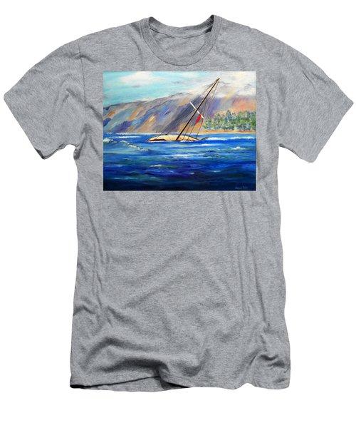 Maui Boat Men's T-Shirt (Athletic Fit)