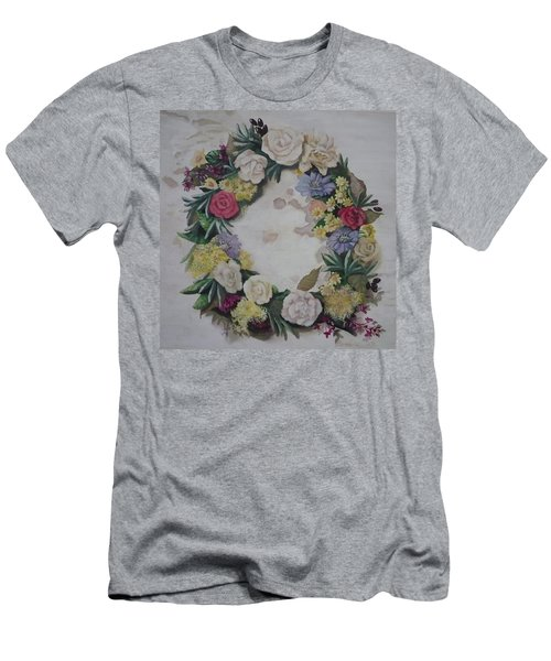 May Wreath Men's T-Shirt (Athletic Fit)