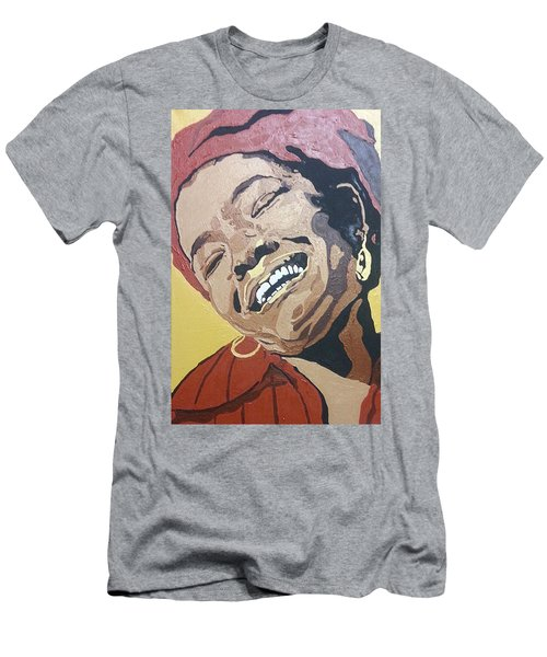 Maya Angelou Men's T-Shirt (Athletic Fit)