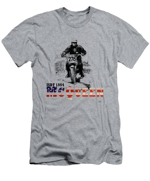 Mcqueen Isdt 1964 Men's T-Shirt (Athletic Fit)
