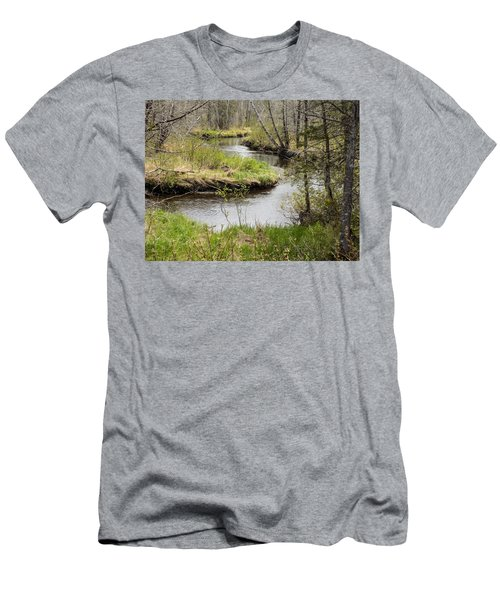 Meandering Men's T-Shirt (Athletic Fit)