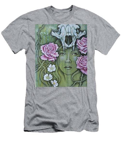 Medicinae Men's T-Shirt (Slim Fit) by Sheri Howe
