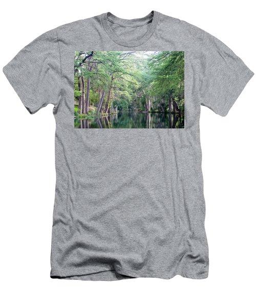 Medina Creek In Summer Men's T-Shirt (Athletic Fit)
