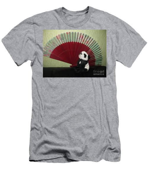 Men's T-Shirt (Slim Fit) featuring the photograph Meditation Hour by Ausra Huntington nee Paulauskaite
