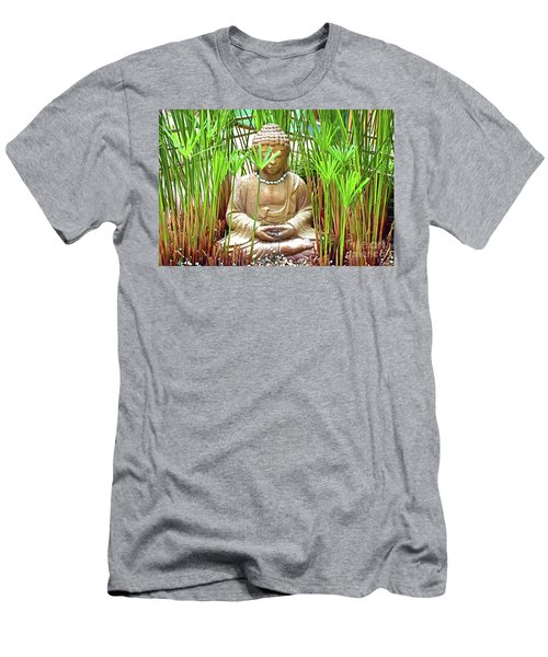 Meditation Men's T-Shirt (Slim Fit) by Ray Shrewsberry