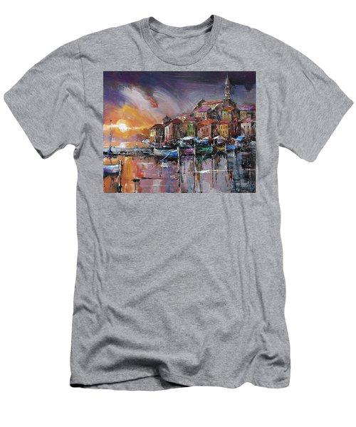 Mediterranean Motif IIi      Men's T-Shirt (Athletic Fit)