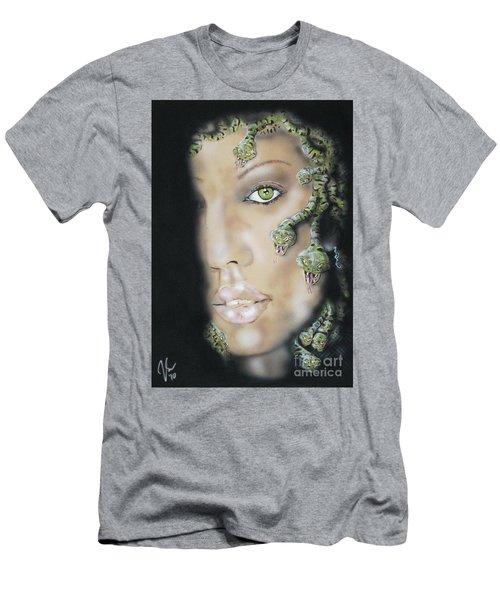 Medusa Men's T-Shirt (Slim Fit) by John Sodja