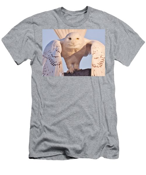 Men's T-Shirt (Slim Fit) featuring the photograph Meet Roofus by Elaine Franklin