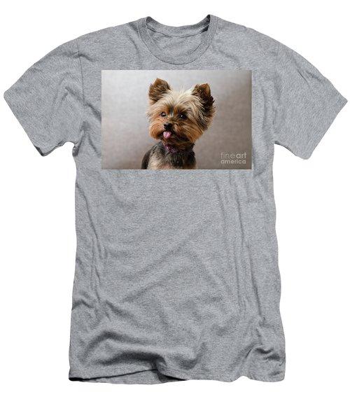 Melanie In Grey Men's T-Shirt (Athletic Fit)