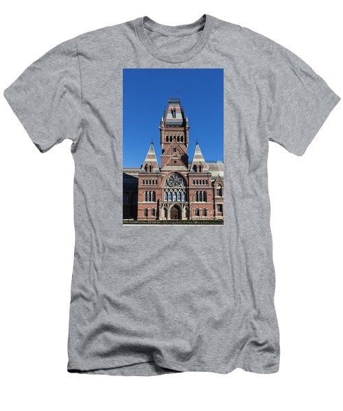 Memorial Hall Harvard Men's T-Shirt (Athletic Fit)
