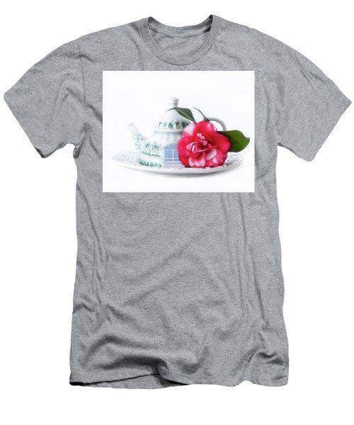 Memories Red Men's T-Shirt (Athletic Fit)