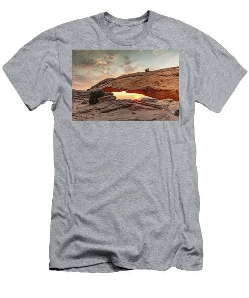 Mesa Arch At Sunrise Men's T-Shirt (Athletic Fit)