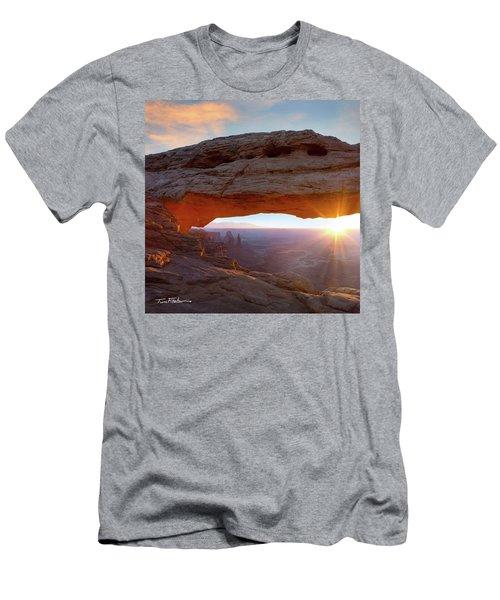 Mesa Arch, Canyonlands, Utah Men's T-Shirt (Athletic Fit)