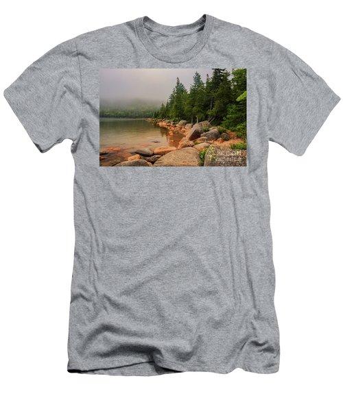 Mesmerizing Jordan Pond Men's T-Shirt (Athletic Fit)