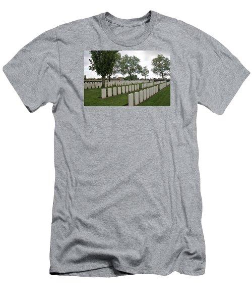 Messines Ridge British Cemetery Men's T-Shirt (Athletic Fit)