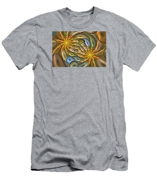 Metallic Mitosis Men's T-Shirt (Athletic Fit)