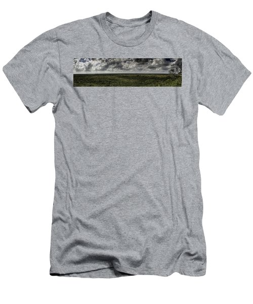 Men's T-Shirt (Slim Fit) featuring the photograph Mexican Jungle Panoramic by Jason Moynihan