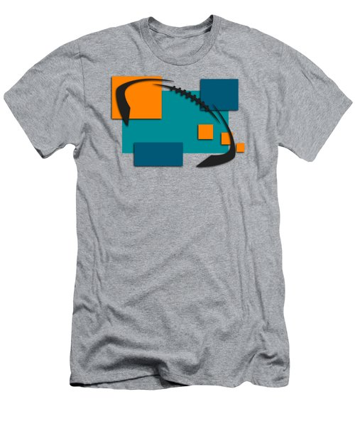 Miami Dolphins Abstract Shirt Men's T-Shirt (Athletic Fit)