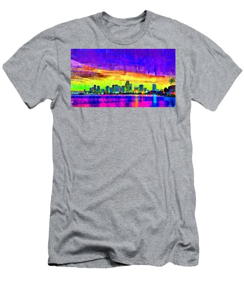Miami Skyline 150 - Pa Men's T-Shirt (Athletic Fit)