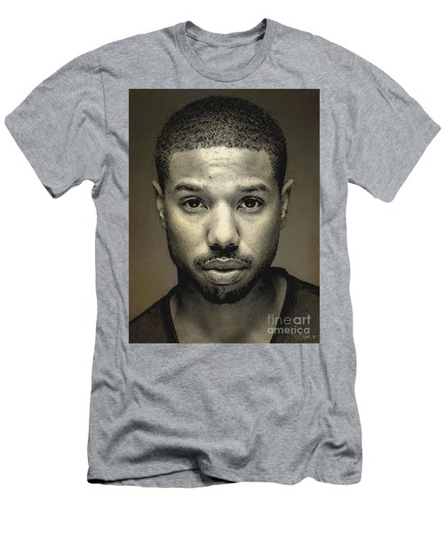 Michael B. Jordan Men's T-Shirt (Athletic Fit)