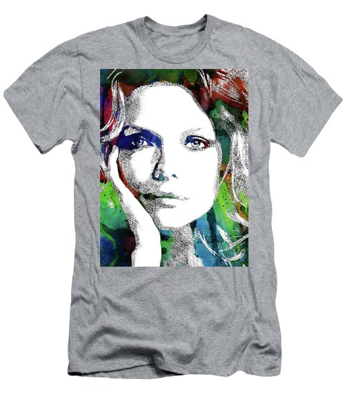 Michelle Pfeiffer Men's T-Shirt (Slim Fit) by Mihaela Pater