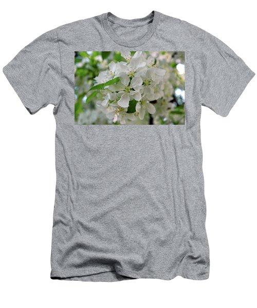 Men's T-Shirt (Slim Fit) featuring the photograph Michigan State Flower by LeeAnn McLaneGoetz McLaneGoetzStudioLLCcom