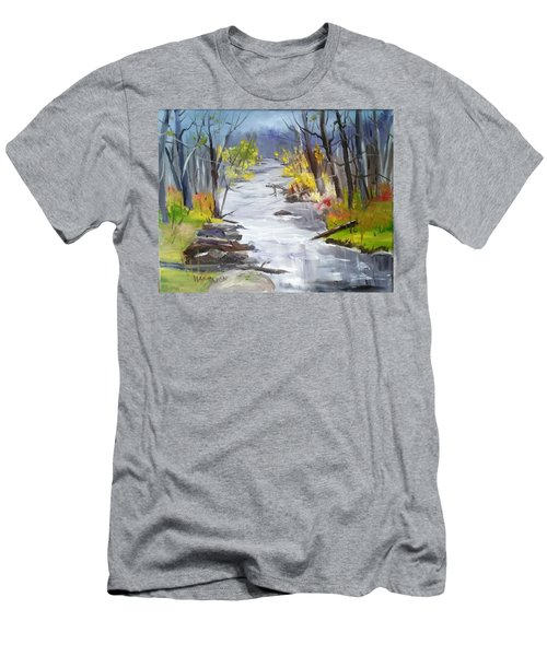 Michigan Stream Men's T-Shirt (Athletic Fit)