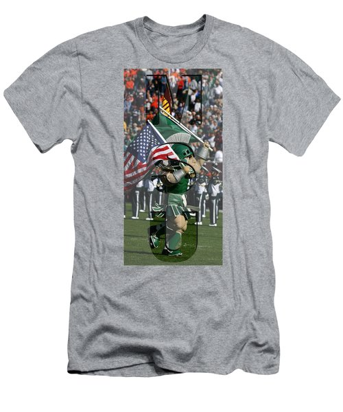 Michiganstate Sparty Men's T-Shirt (Athletic Fit)