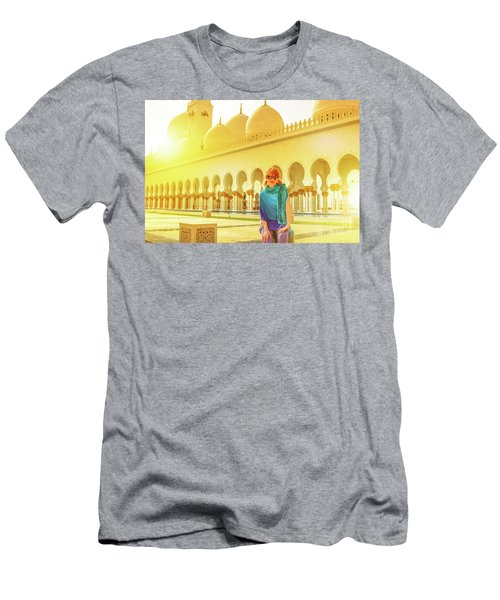 Middle East Tourism Concept Men's T-Shirt (Athletic Fit)
