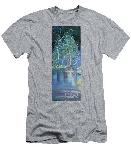 Midnight At Lake Lanier Men's T-Shirt (Athletic Fit)