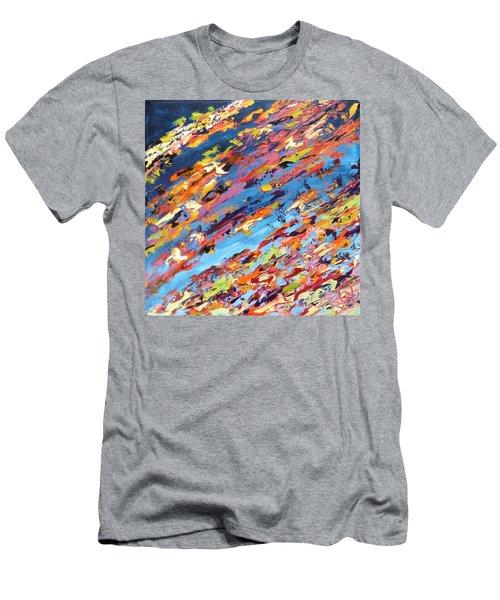 Midnight Blues Men's T-Shirt (Athletic Fit)