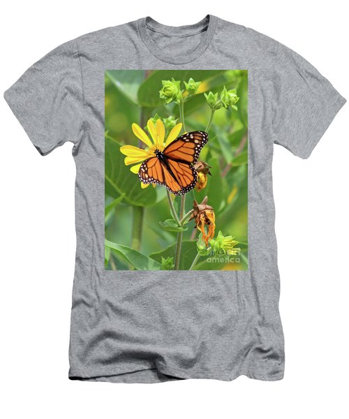 Mighty Monarch   Men's T-Shirt (Athletic Fit)