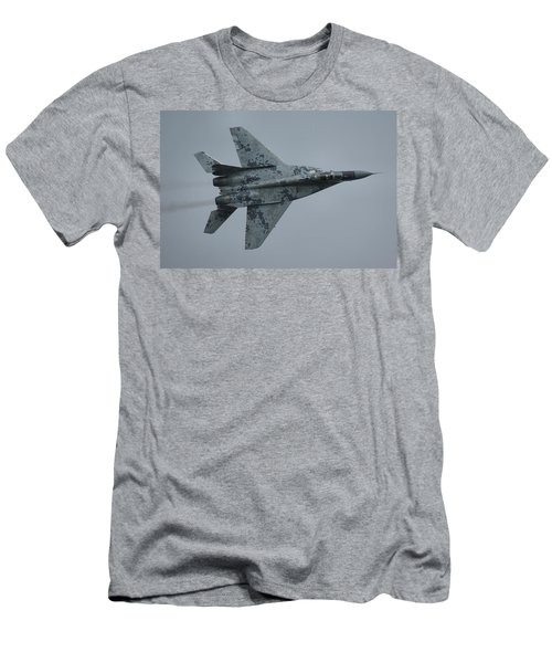 Mikoyan-gurevich Mig-29as  Men's T-Shirt (Slim Fit) by Tim Beach