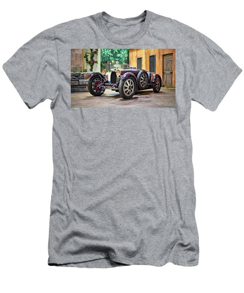 Men's T-Shirt (Slim Fit) featuring the photograph Mile-a-minute by Eduard Moldoveanu