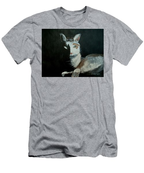 Milkshake The Cat Men's T-Shirt (Athletic Fit)