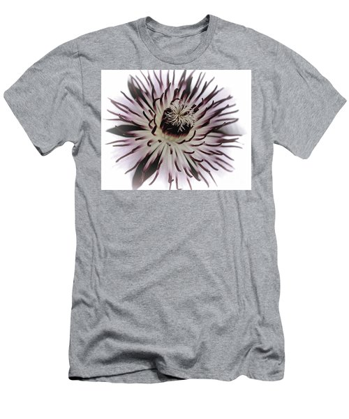 Milky Clematis Men's T-Shirt (Slim Fit) by Stephen Melia