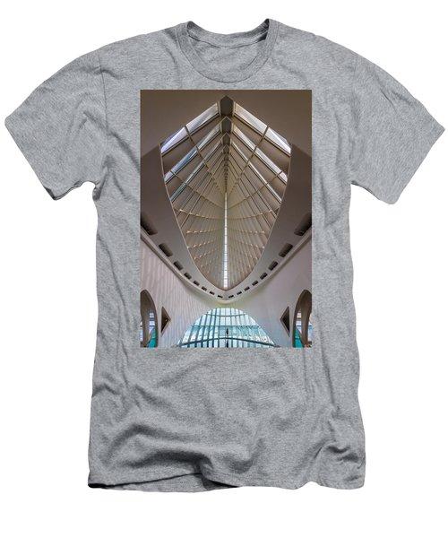 Milwaukee Art Museum Hall Men's T-Shirt (Athletic Fit)