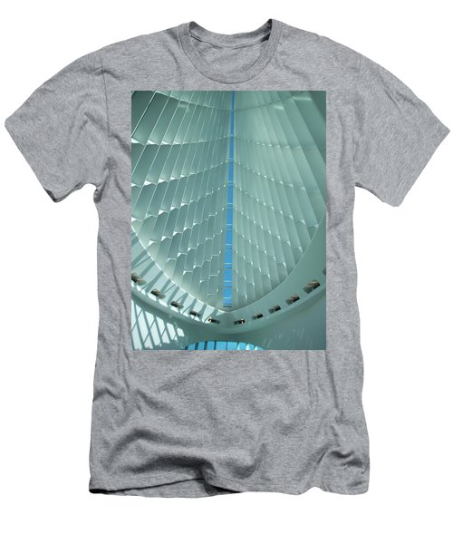 Milwaukee Art Museum Interior Men's T-Shirt (Athletic Fit)