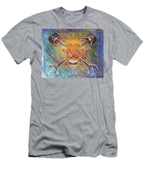 Mind Blown Motorhead  Men's T-Shirt (Slim Fit) by Alan Johnson