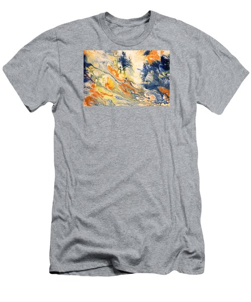 Mind Flow Men's T-Shirt (Slim Fit) by Gallery Messina
