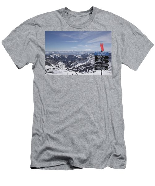 Mineral Basin Men's T-Shirt (Athletic Fit)