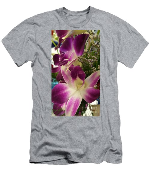 Mini Orchids  Men's T-Shirt (Athletic Fit)