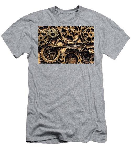Miniature Awm Bolt-action Sniper Rifle  Men's T-Shirt (Athletic Fit)