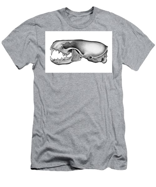 Mink Skull Men's T-Shirt (Athletic Fit)